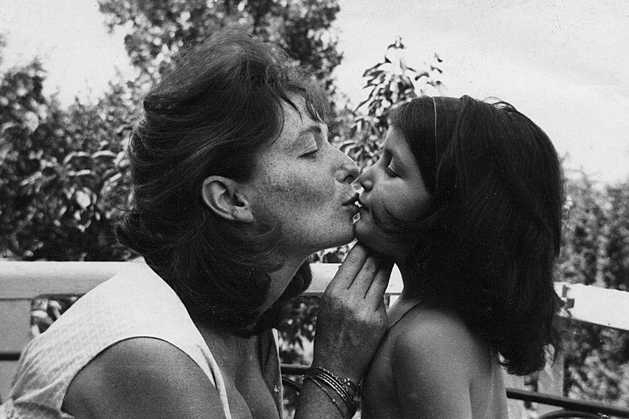 Sonia Rykiel et sa fille Nathalie.