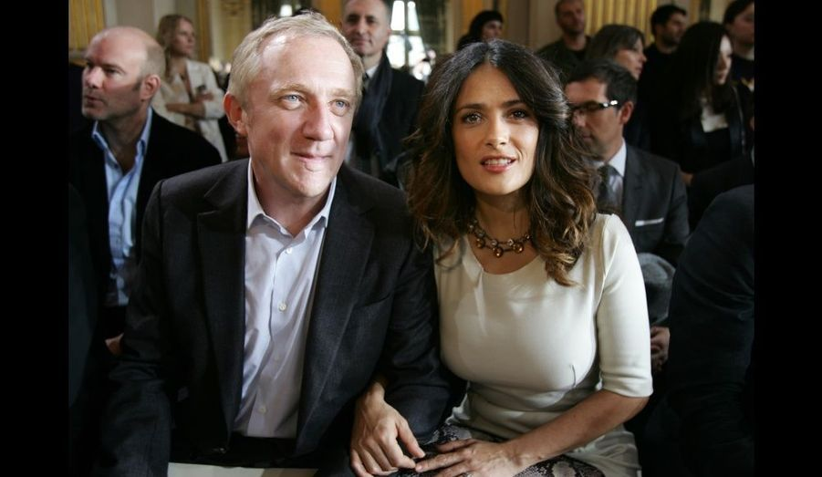 François-Henri Pinault et Salma Hayek.
