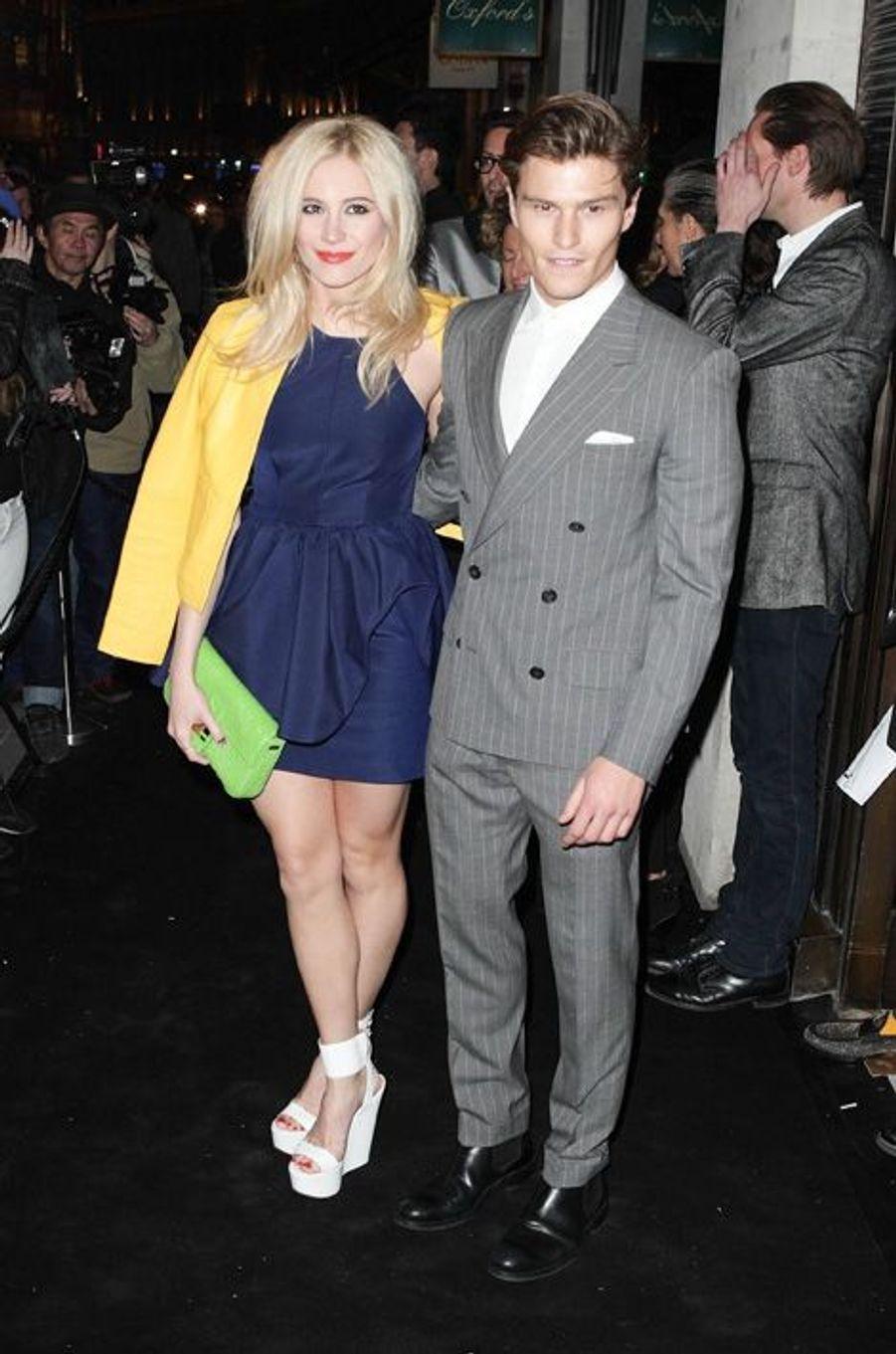 Pixie Lott et Oliver Cheshire