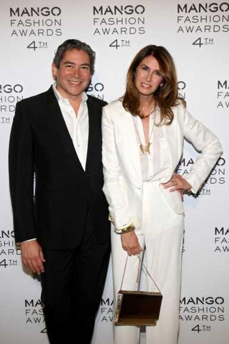 Boris Izaguirre et Ana García Siñériz,