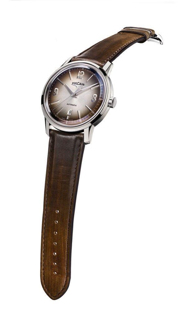 La montre des présidents américains 50s Presidents' Classic en acier, 42 mm, mouvement automatique.