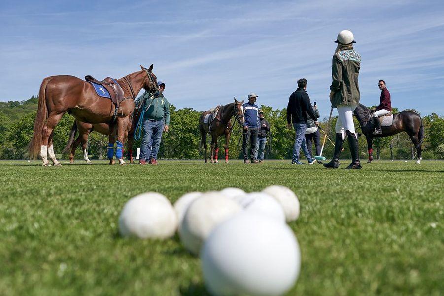 C'est dans la propriété de Claire Milford Haven que Jaeger-LeCoultre a organisé un match de polo entre amateurs.