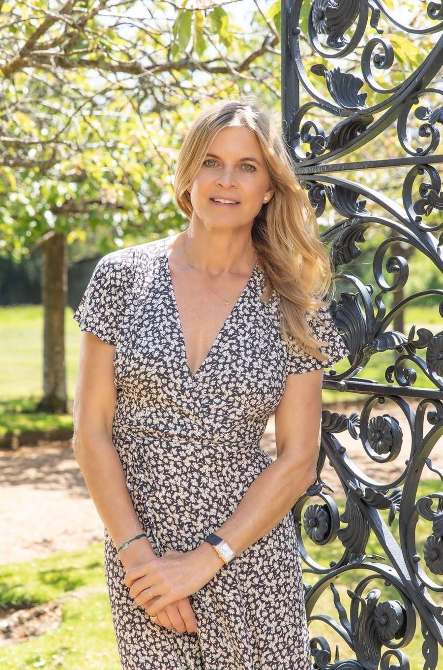 Claire Milford Haven, amie de Jaeger-LeCoultre depuis plusieurs années.