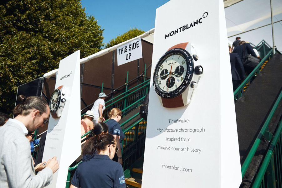 Pour la troisième année consécutive, Montblanc est chronométreur officiel de l'ensemble des courses qui se déroulent à Goodwood.