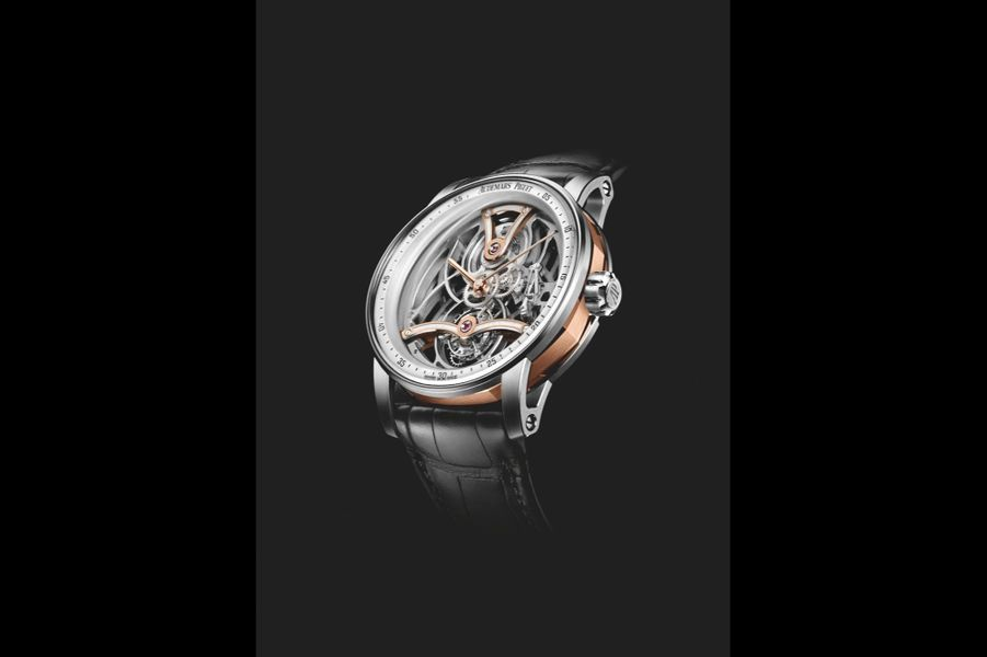 Lot 37, Audemars Piguet  Code 11-59 Tourbillon Squelette, adjugé à 917 000 €.