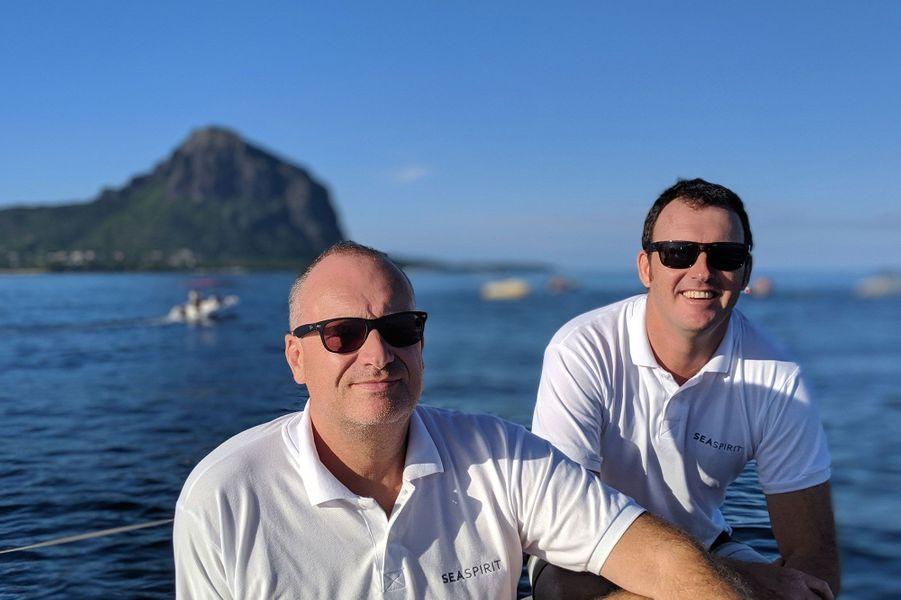Jean-Marc Seine et Christophe Desmarais, les fondateurs de Sea Spirit.