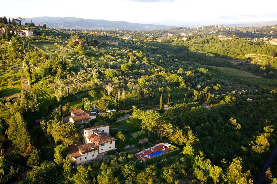 Goûter unNegroniauMarignolle Relais & Charme - Residenza d'Epoca (Florence, Italie).