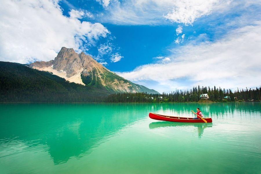 Emerald Lake Lodgedans le parc national Yoho, en Colombie-Britannique (Canada).