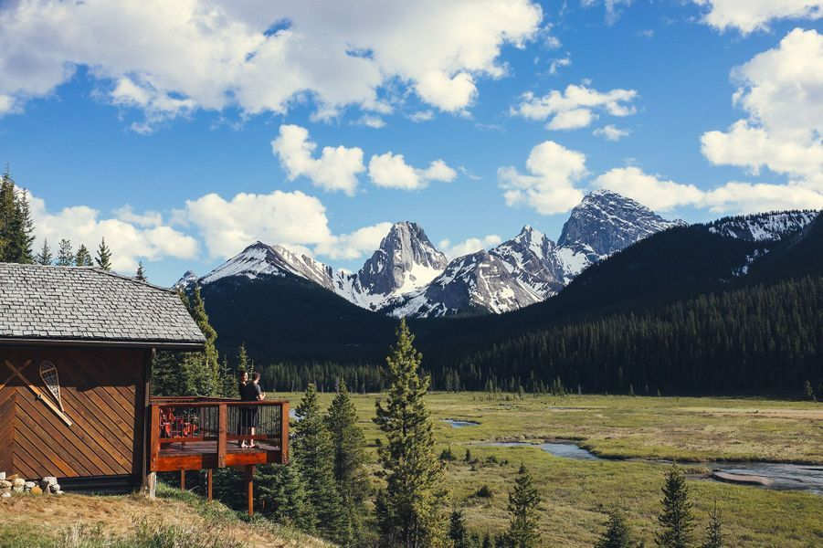 Mount Engadine Lodgeà Kananaskis Village, en Alberta (Canada).