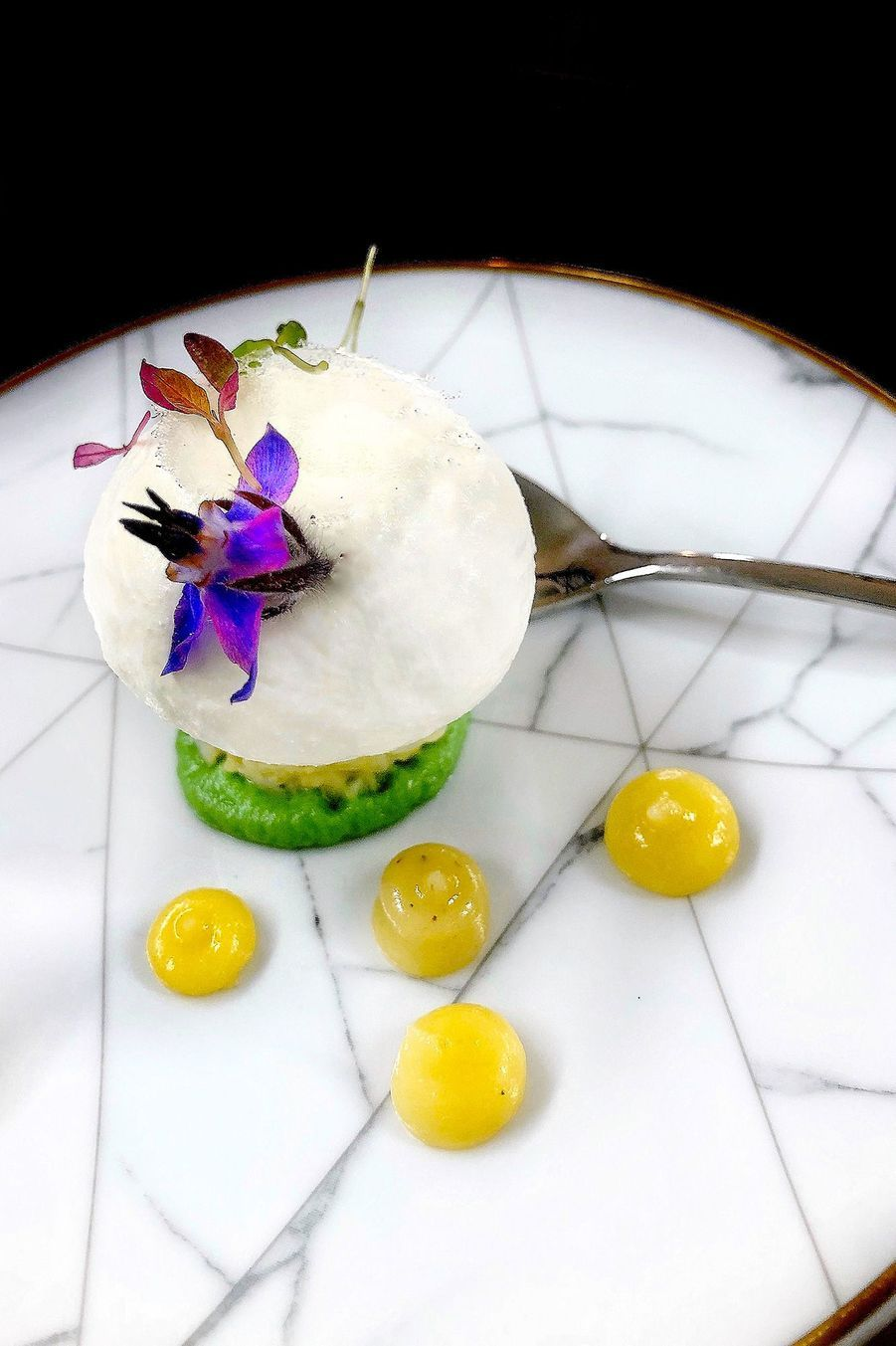 Dessert parJulien Montbabut.