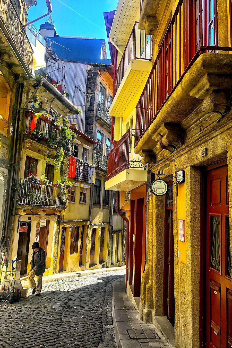Les ruelles de Porto.
