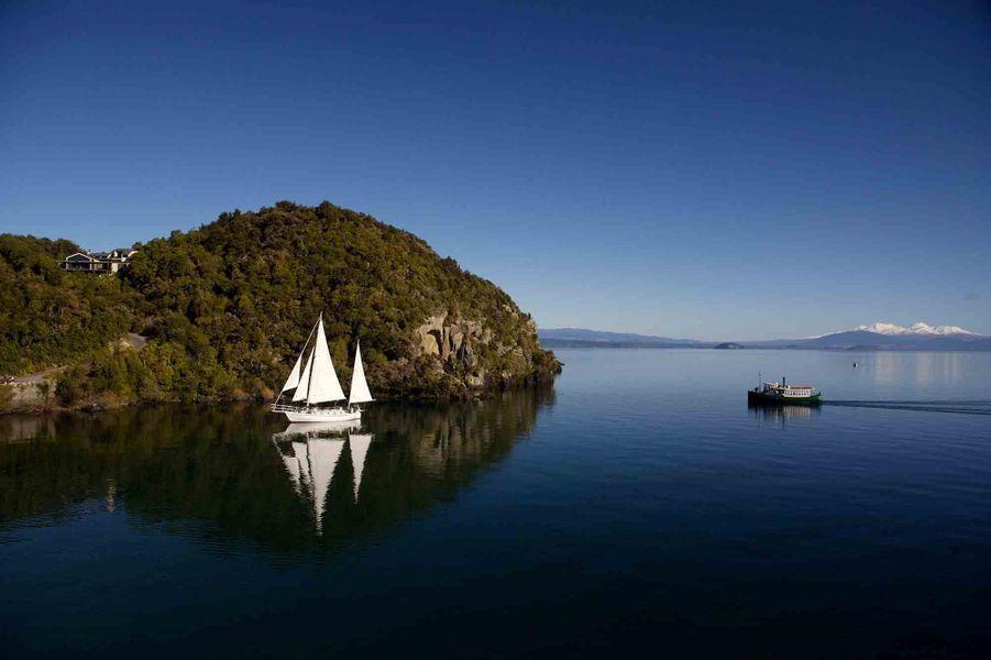Lac Taupo, Nouvelle-Zélande
