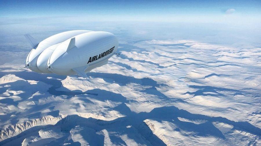 L'Airlander 10 atteindra 85 mètre de longueur.