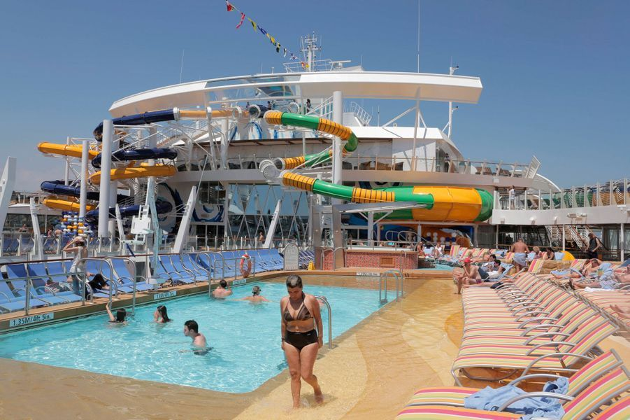 "A bord du ""Harmony of the Seas"""