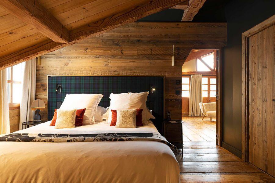 Une chambre du Chabichou.