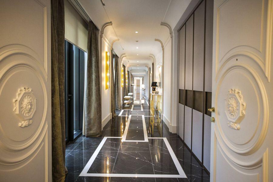 L'incroyable suite de 600 mètres carrés de l'hôtel de Paris de Monte Carlo