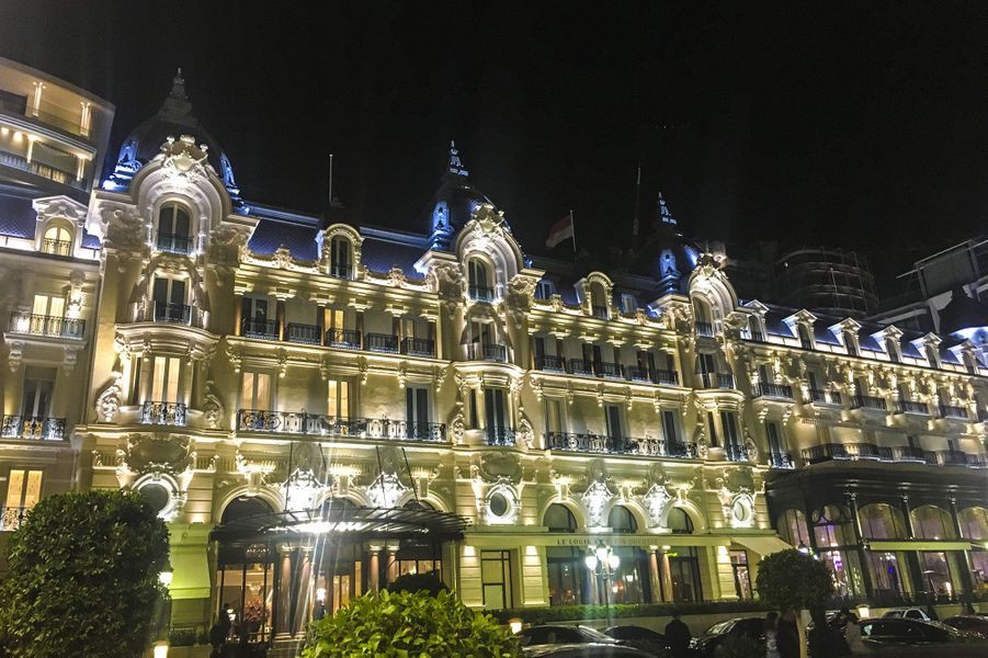 L'hôtelParis de Monte Carlo, à Monaco.