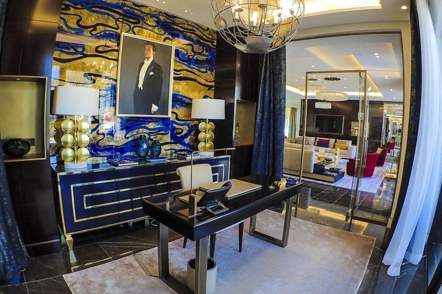 La suite Rainier de l'hôtelParis de Monte Carlo, à Monaco.
