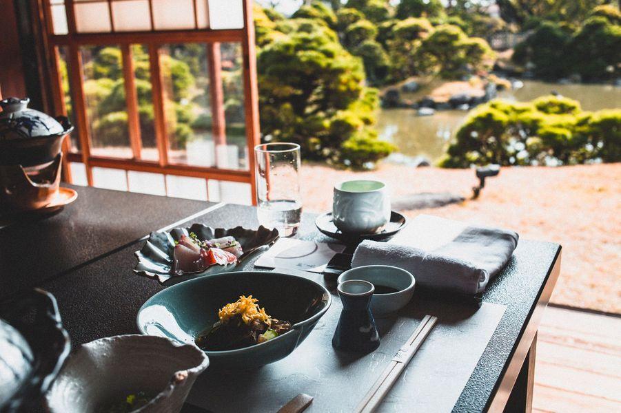 """cuisine kaiseki, restaurant """"Ohana"""", Yanagawa"""