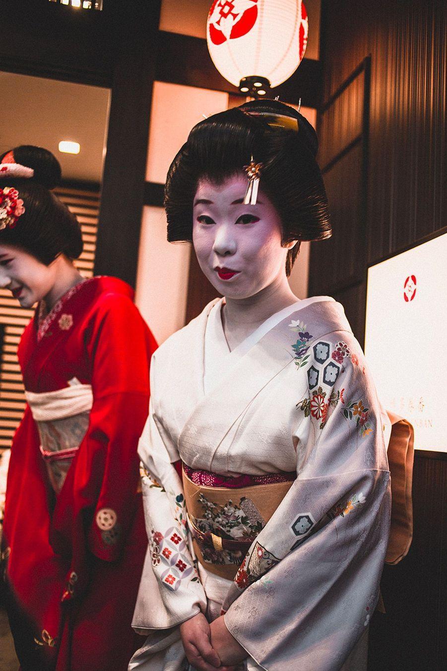 Geisha professionnelle, Fukuoka