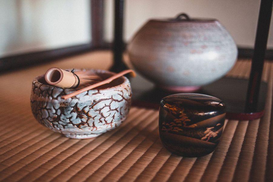 ustenciles pour la cérémonie du thé, Karatsu