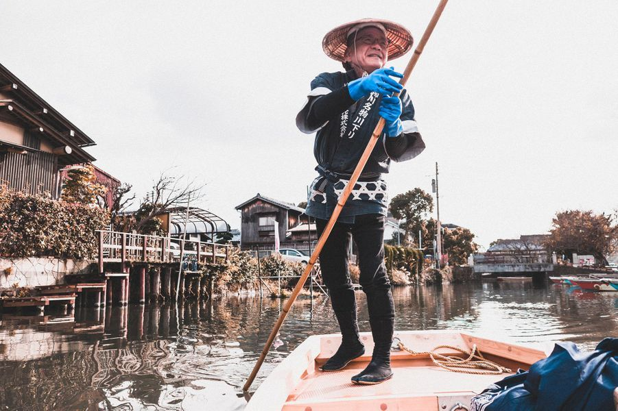 balade en gondole, Yanagawa