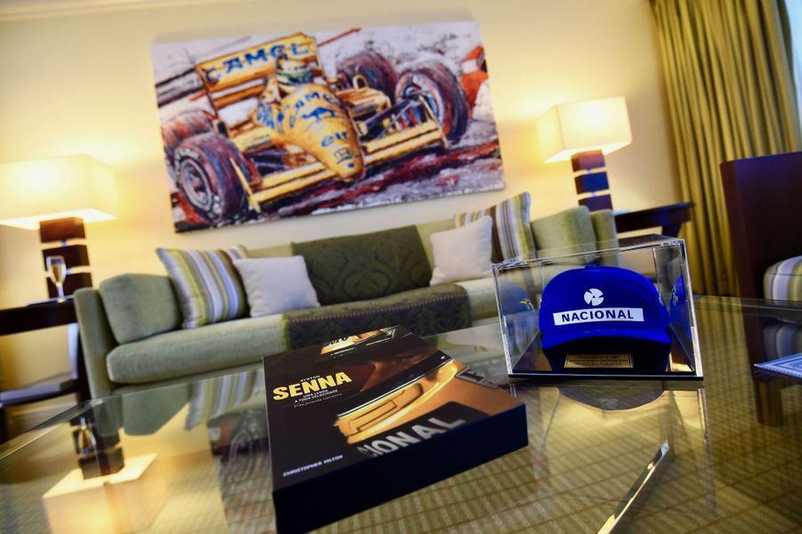 La Suite Ayrton Senna au Fairmont Monte-Carlo.
