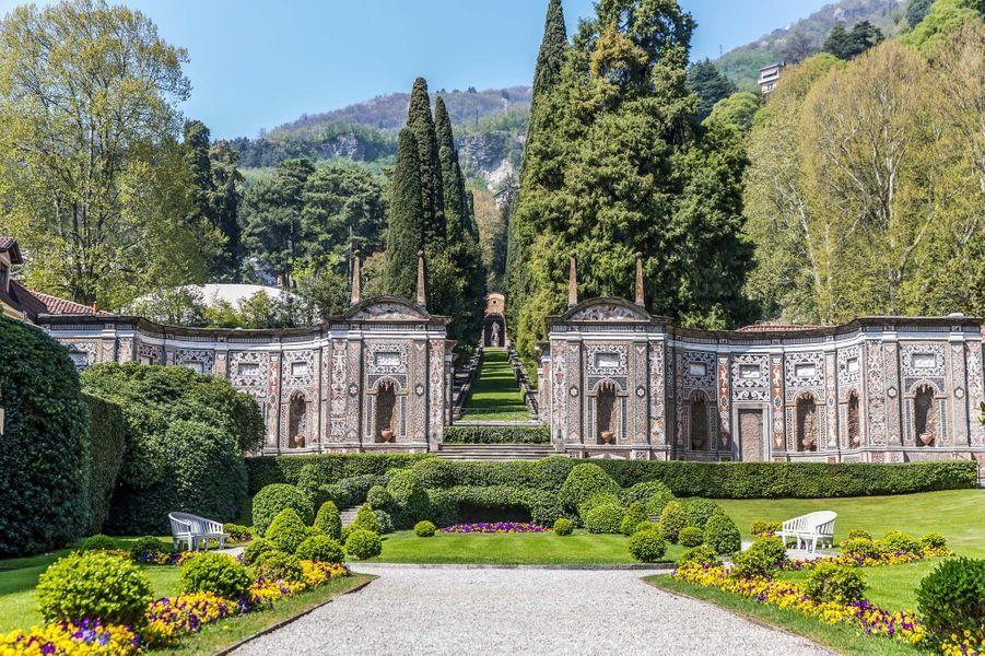 La Villa d'Este, un palace romantique où se côtoient gotha et glamour hollywoodien.