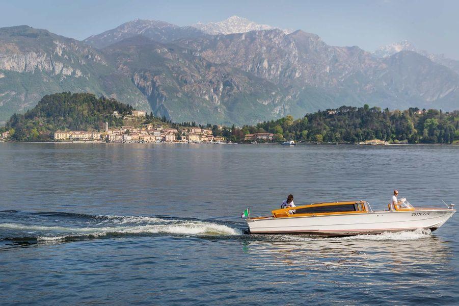 Sur le lac de Côme, Bellagio la romantique.
