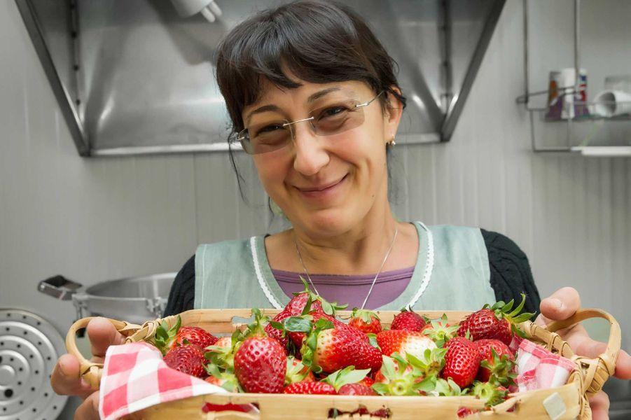 Christiana, agricultrice. Ferme-Trattoria, Bellagio.