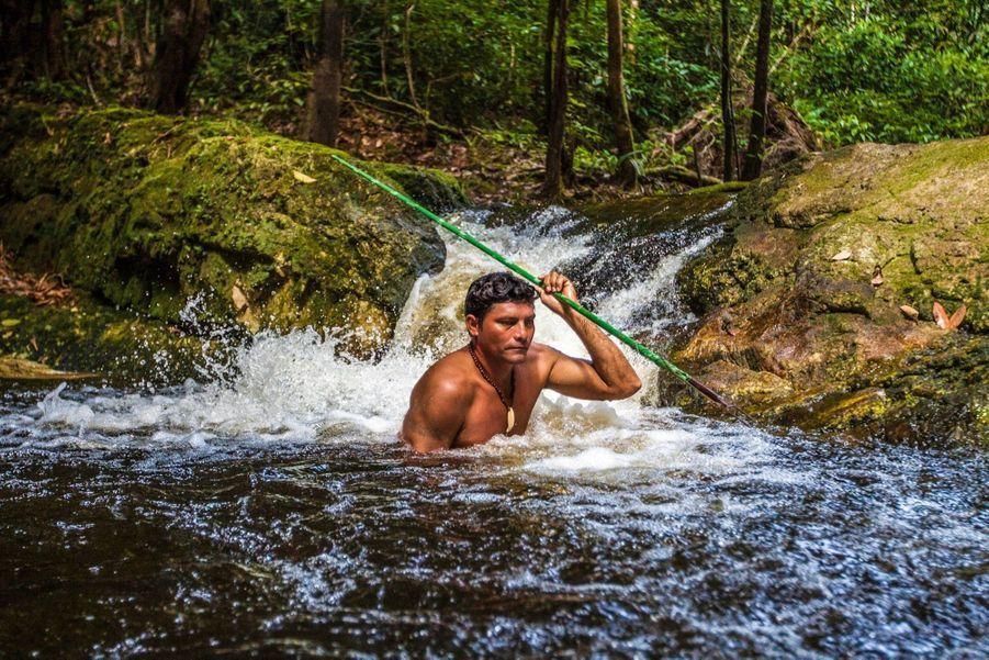 Agilon, notre guide indien, sans qui survivre dans ce milieu hostile serait impossible.