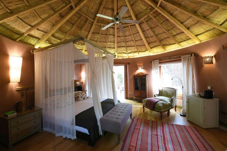 A San Pedro de Atacama, on peut trouver des hôtels pour routards mais aussi des établissements de charme, comme ici l'Awasi Atacama.