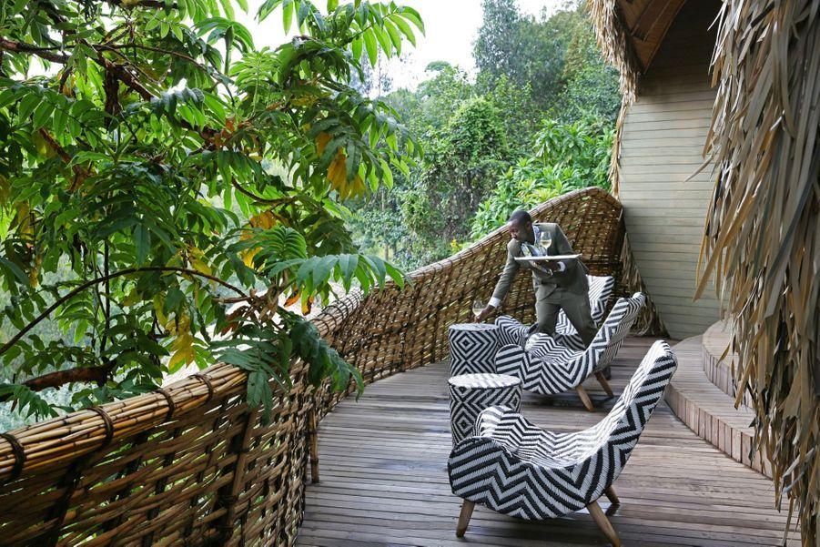 Le Bisate Lodge a ouvert en 2017 et fait déjà partie des meilleures adresses des revues de voyage internationales.
