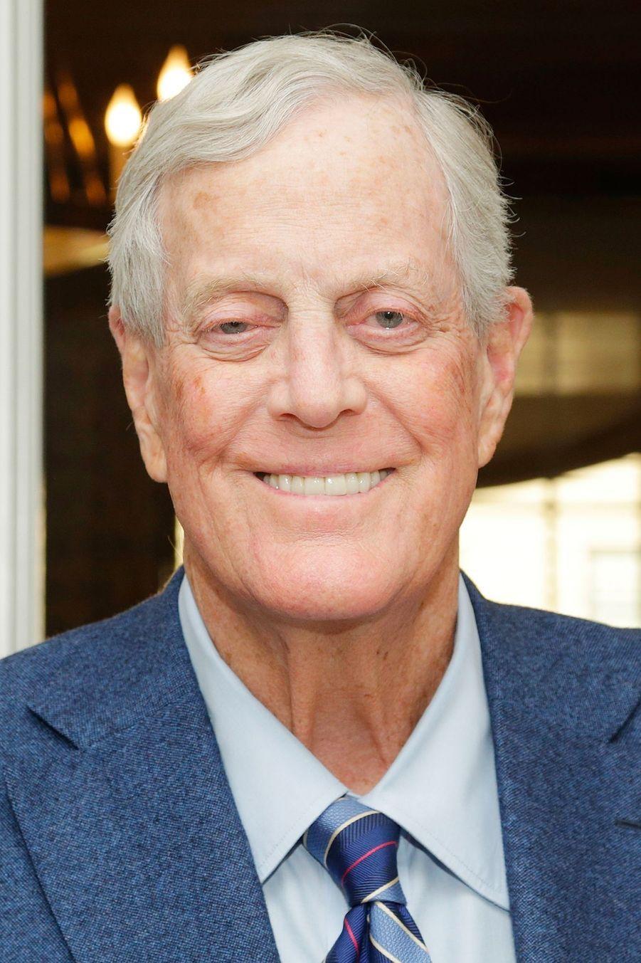 L'actuel locataire de la suiteDavid Koch.