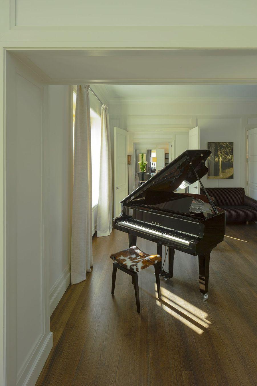 Un magnifique piano.
