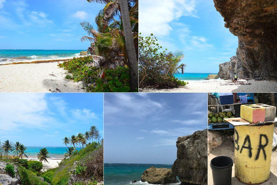 Bottom Bay, une des plages paradisiaques de La Barbade.