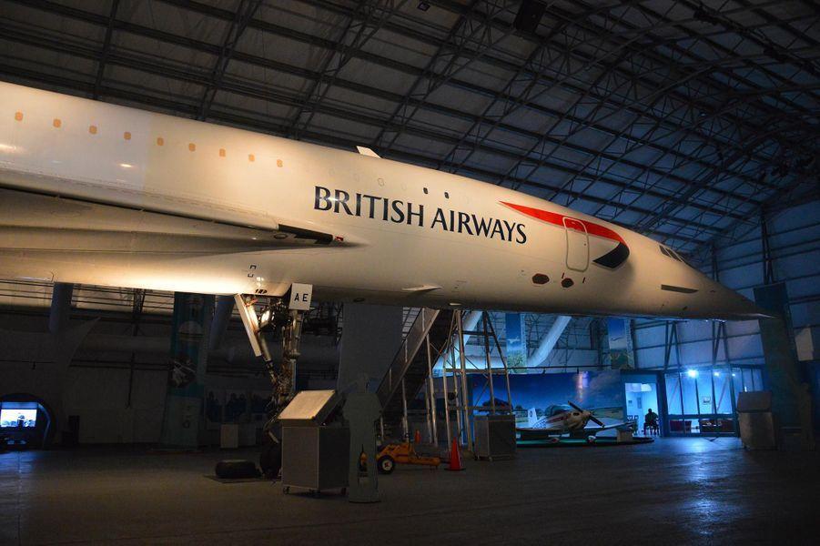 Le Concorde exposé à La Barbade.