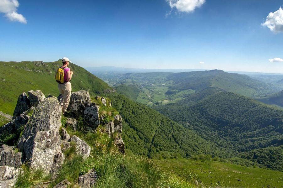 Dans le Cantal.