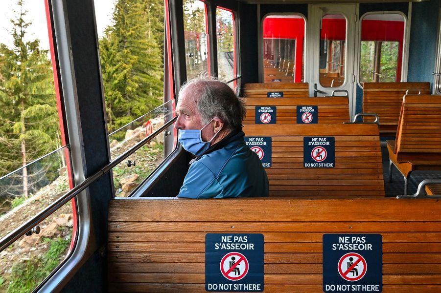 Le train du Montenvers Mer de Glace.
