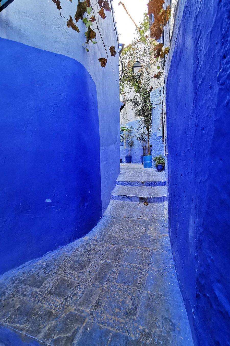 La couleur bleu indigo a fait de Chefchaouen un des lieux les plus photographiés de la planète. Cette cité nichée dans les montagnes du Rif est devenue un des lieux les plus visités du Maroc.