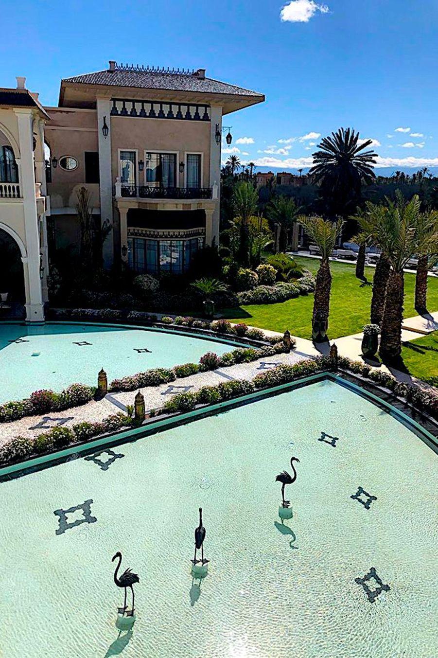 La piscine centrale.
