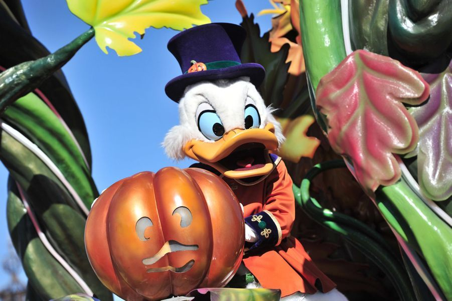 Disneyland Paris frissonne pour Halloween.