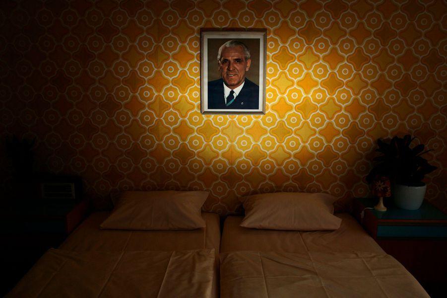 Pour les nostalgiques de l'Allemagne de l'Est, il y a cet hôtel reproduisant le style communiste à Berlin.
