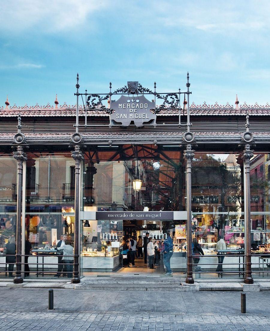 Le marché San Miguel à Madrid.