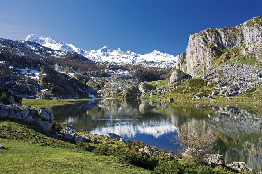 Le parc national des Picos de Europa en Asturies.