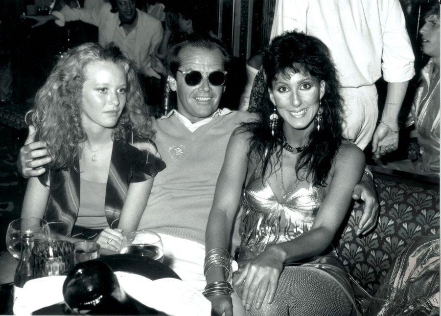 Jack Nicholson et Cher aux Caves du Roy dans les années 1970.