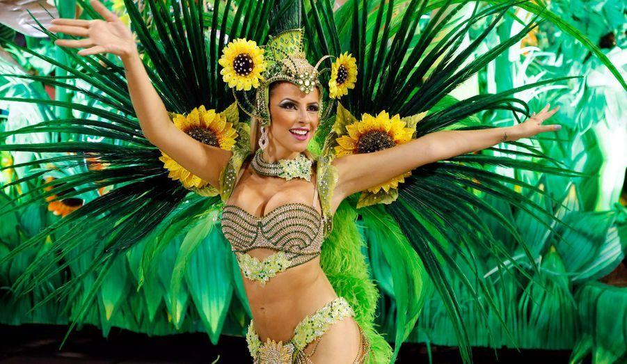 Explosion de couleurs au carnaval de Rio