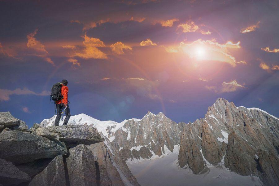 Le Mont Blanc - Les Houches, France