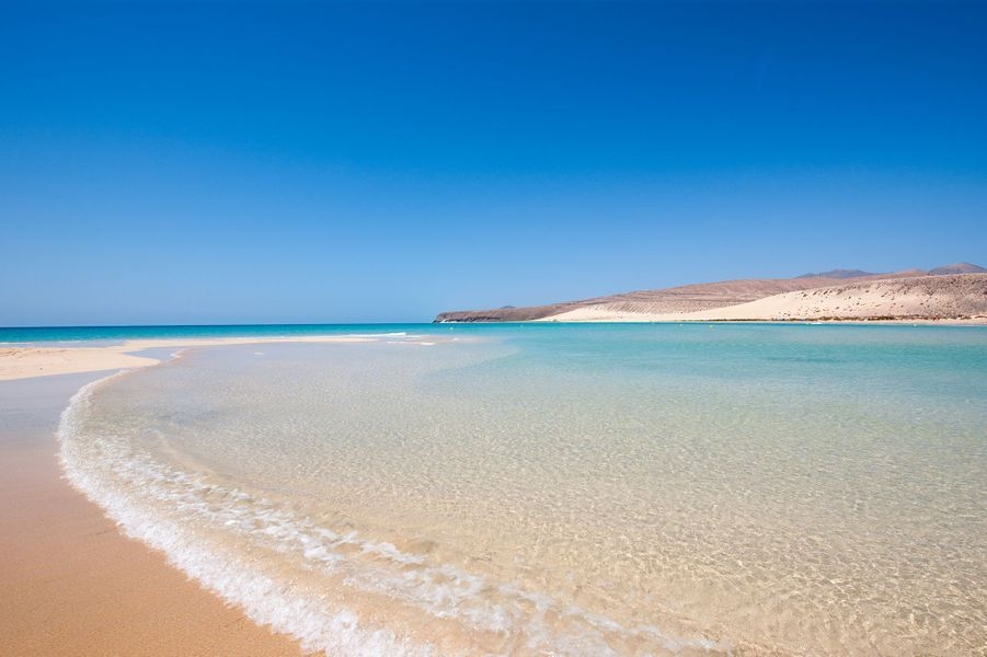 Fuerteventura plage de Sotavento