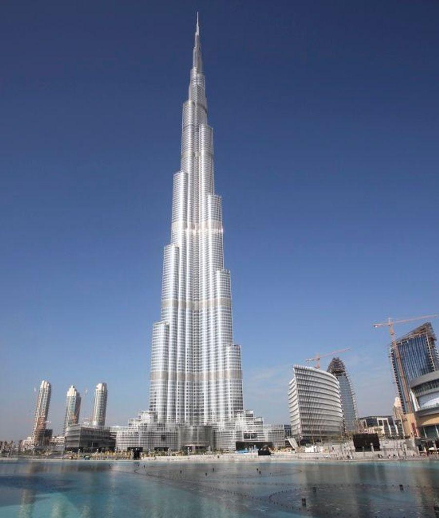 Burj Dubaï de jour